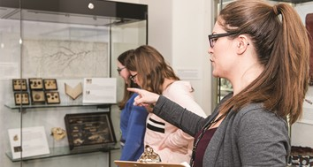 Museum Studies Students at University of Dundee in the Kings Museum
